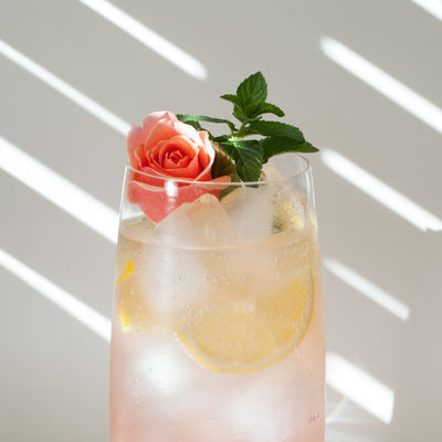 Lemon Rose Soda