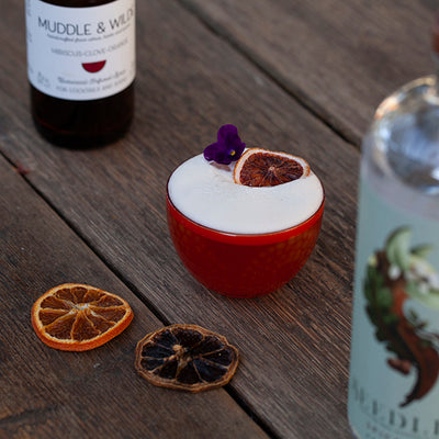 Hibiscus-Clove & Seedlip Spice N/A Cocktail