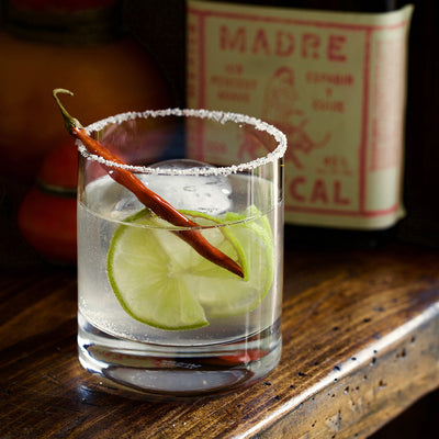 Tamarind-Lime-Chile de Arbol Cocktail
