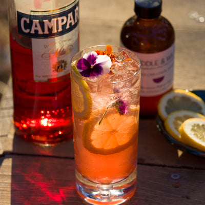 Campari Spritz (low alcohol)