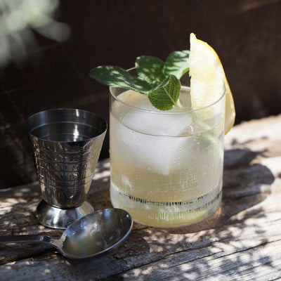 Sage-Lemon Cocktail