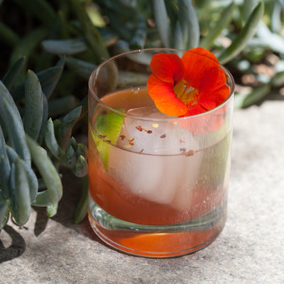 Sumac-Chili-Lime Cocktail
