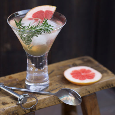 Rosemary-Grapefruit Cocktail