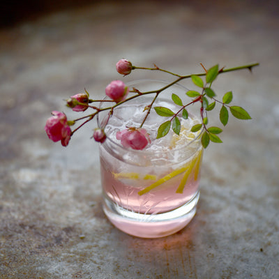 Lemon-Rose Cocktail