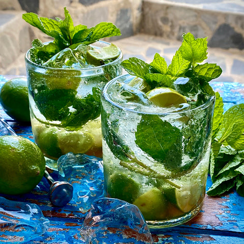 Mojito Mocktail with Muddle&Wilde Allspice-Ginger-Lime