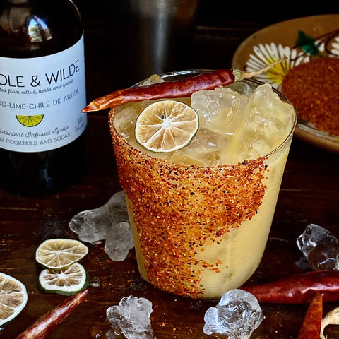 Spicy Mango&Coconut Mocktail with Muddle&Wilde Tamarind-Lime-Chile de Arbol