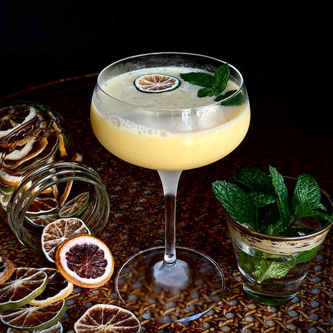 Tropical Mocktail with Muddle&Wilde Allspice-Ginger-Lime