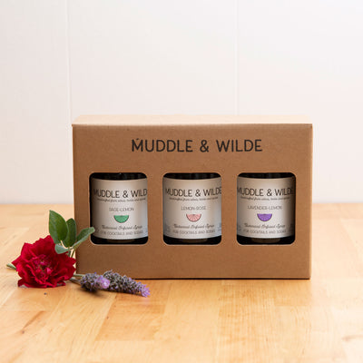 3-BOTTLE GIFT BOX - BUBBLY