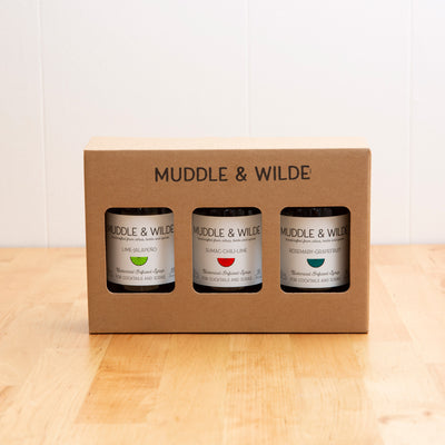 3-BOTTLE GIFT BOX - CHOOSE YOUR FLAVORS
