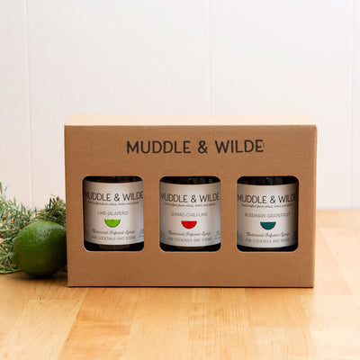 3-BOTTLE GIFT BOX - SPICY