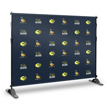 Step and Repeat Backdrop With Print 8' x 8' - Nine Sign