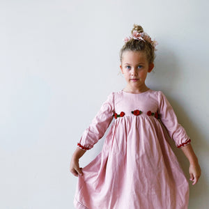 Mdina Dress in Blush