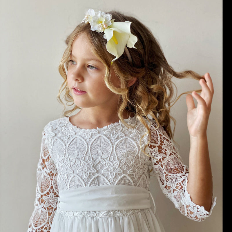 Ceremony Malta Dress in White