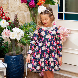 Cittadella Dress in Winter Floral