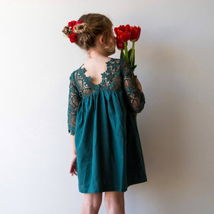 Malta Dress in Green