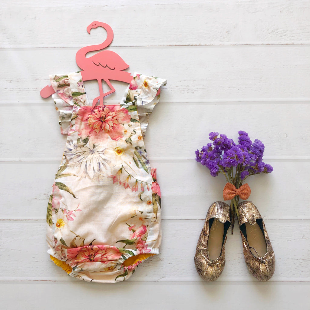 Ravello Romper in Floral