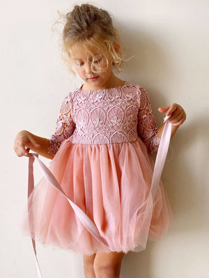 Malta Tutu dress in Blush