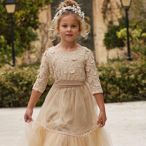Venezia Dress in Champagne