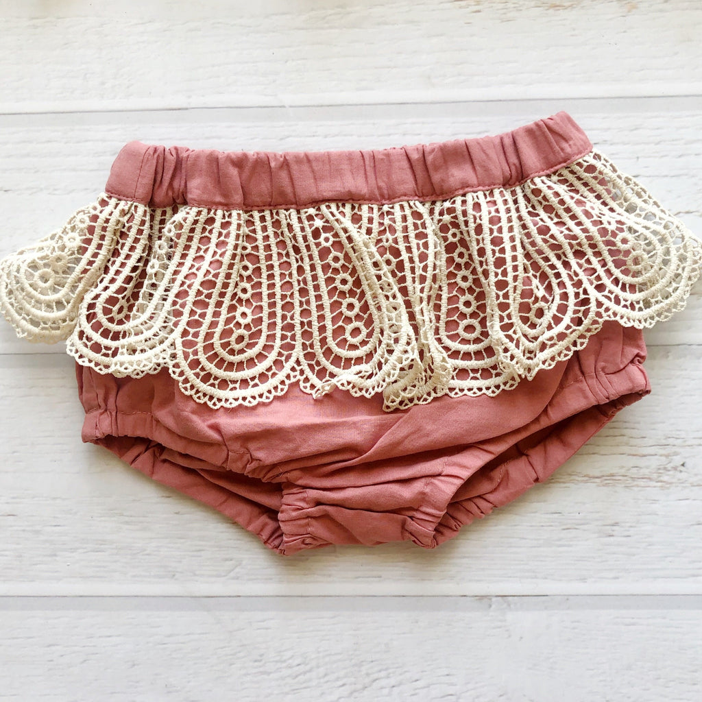 Boho Bloomers in Terracotta
