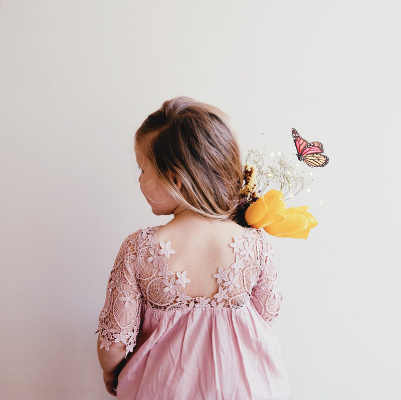 Malta Dress in Blush