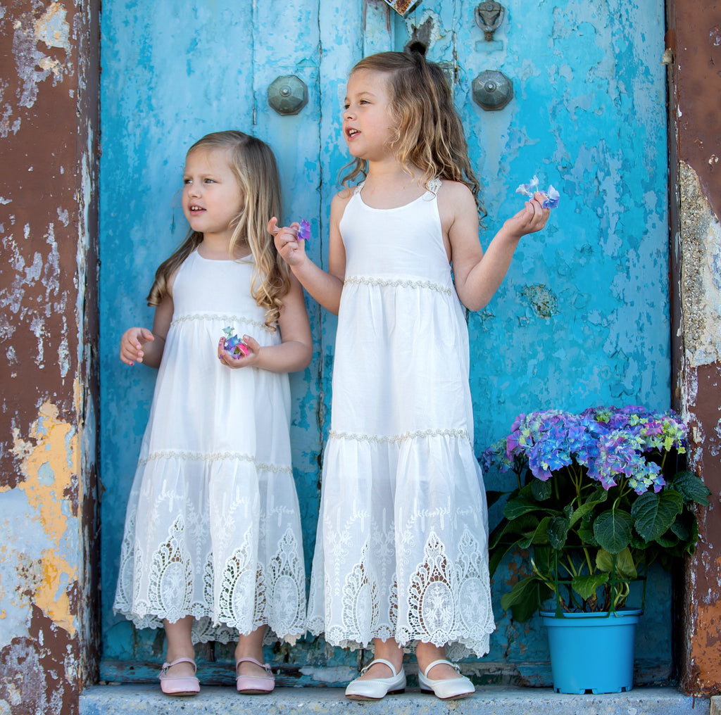Amalfi Dress in White