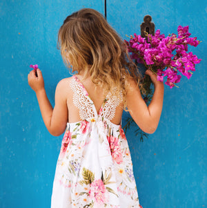 Gozo Dress in Floral