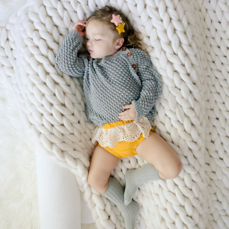 Boho Bloomers in Sunflower yellow