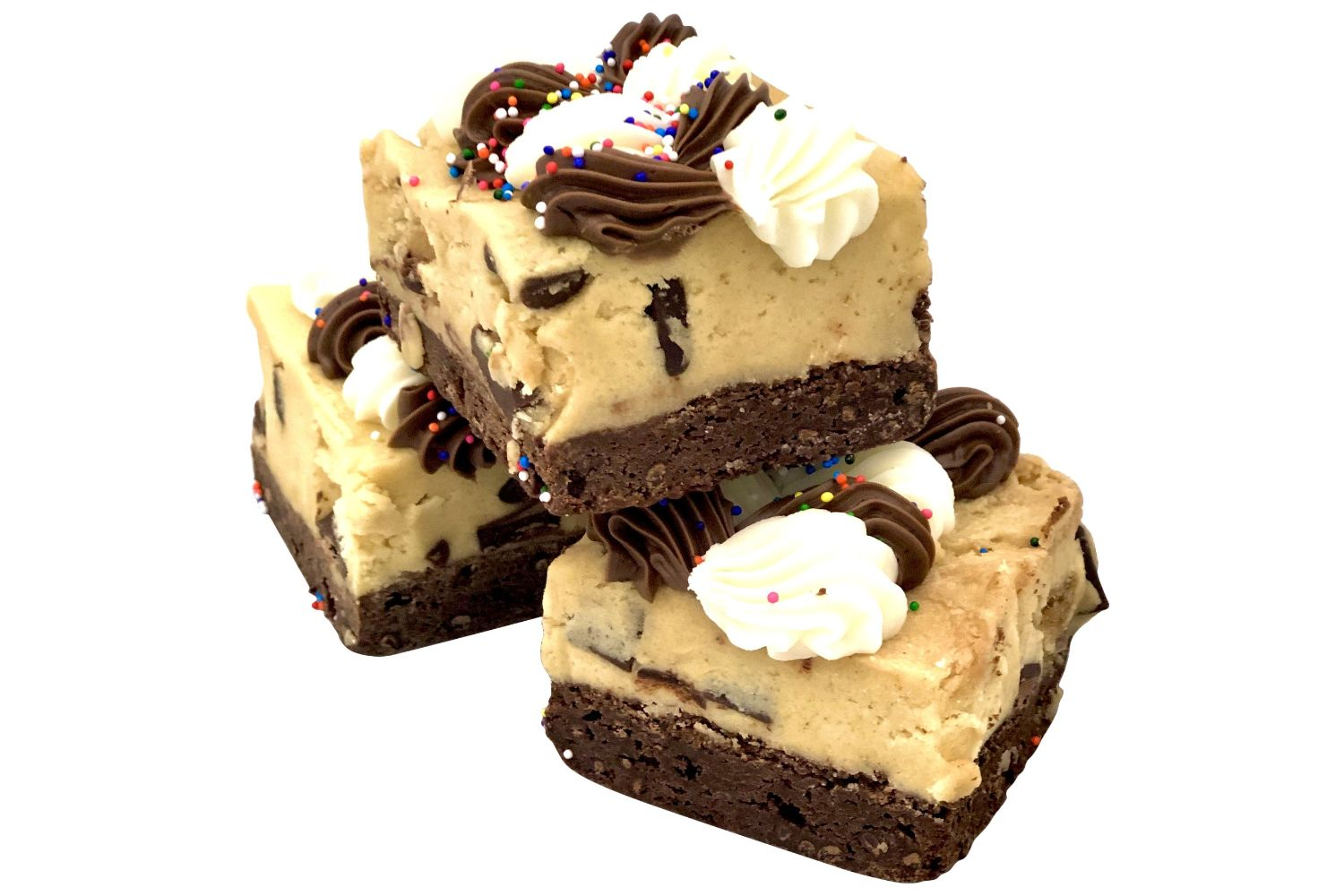 Chocolate Chip Brownie Cookie Dough Bar