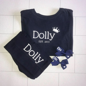 Leggings And Tee Set