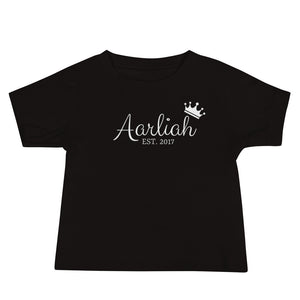 Crown/Est Name Tee