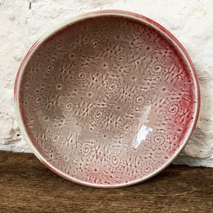 Bowl, Medium Red