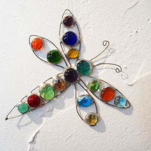 Glass Ornament Dragonfly
