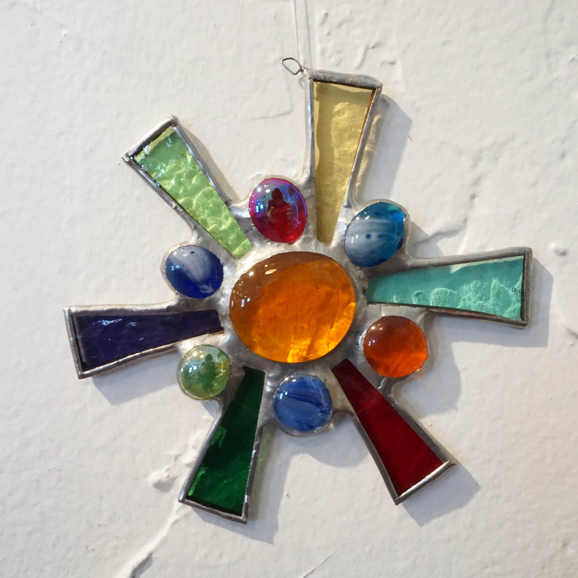 Glass Ornament Sun Burst