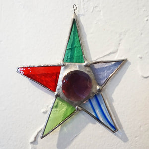 Glass Ornament Star