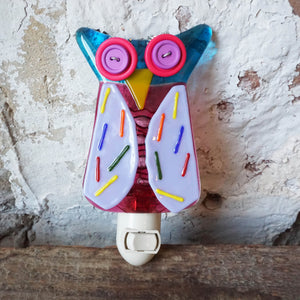 Glass Owl Nightlight