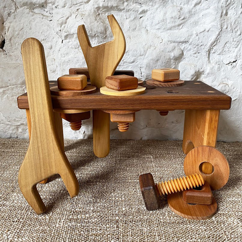 Wooden Tools & Workbench