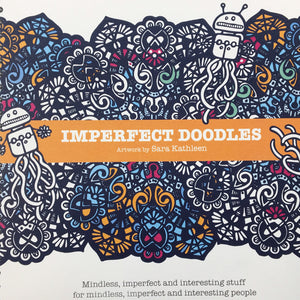 Imperfect Doodles: Luxury colour/paint/doodle book