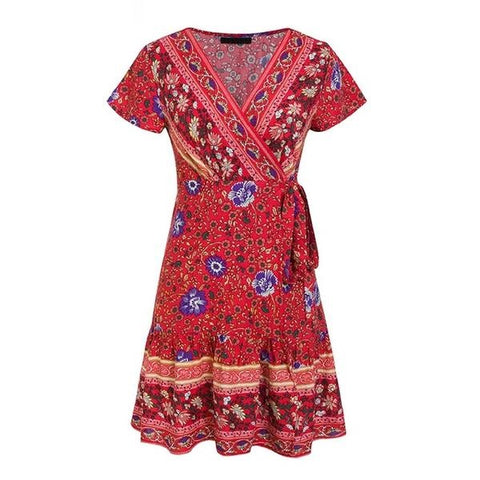 Boho Gypsy Dress - ALIA MAXINE