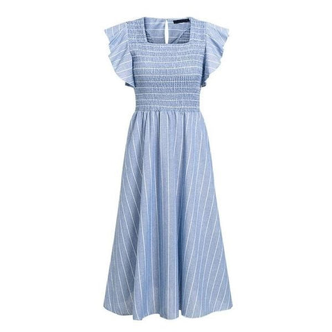 Striped Summer Dress - ALIA MAXINE