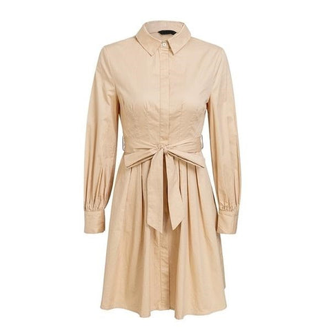 Vintage Pleated Dress - ALIA MAXINE