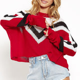 Cheerleader Sweater - ALIA MAXINE