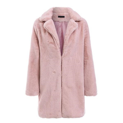 Faux Fur Jacket - ALIA MAXINE