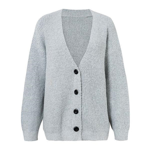 Button Down Cardigan - ALIA MAXINE