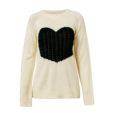 Heart Sweater - ALIA MAXINE