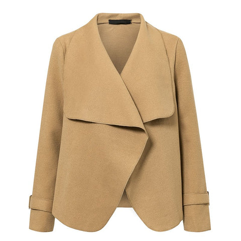 Draped Lapel Jacket - ALIA MAXINE