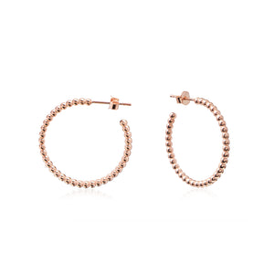 BIG DOTS HOOPS