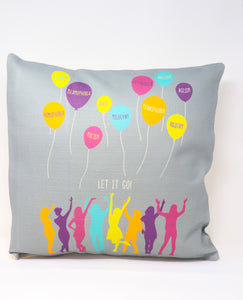 PILLOW LET IT GO