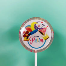 Load image into Gallery viewer, Personalized Purim (Happy) Lollipops