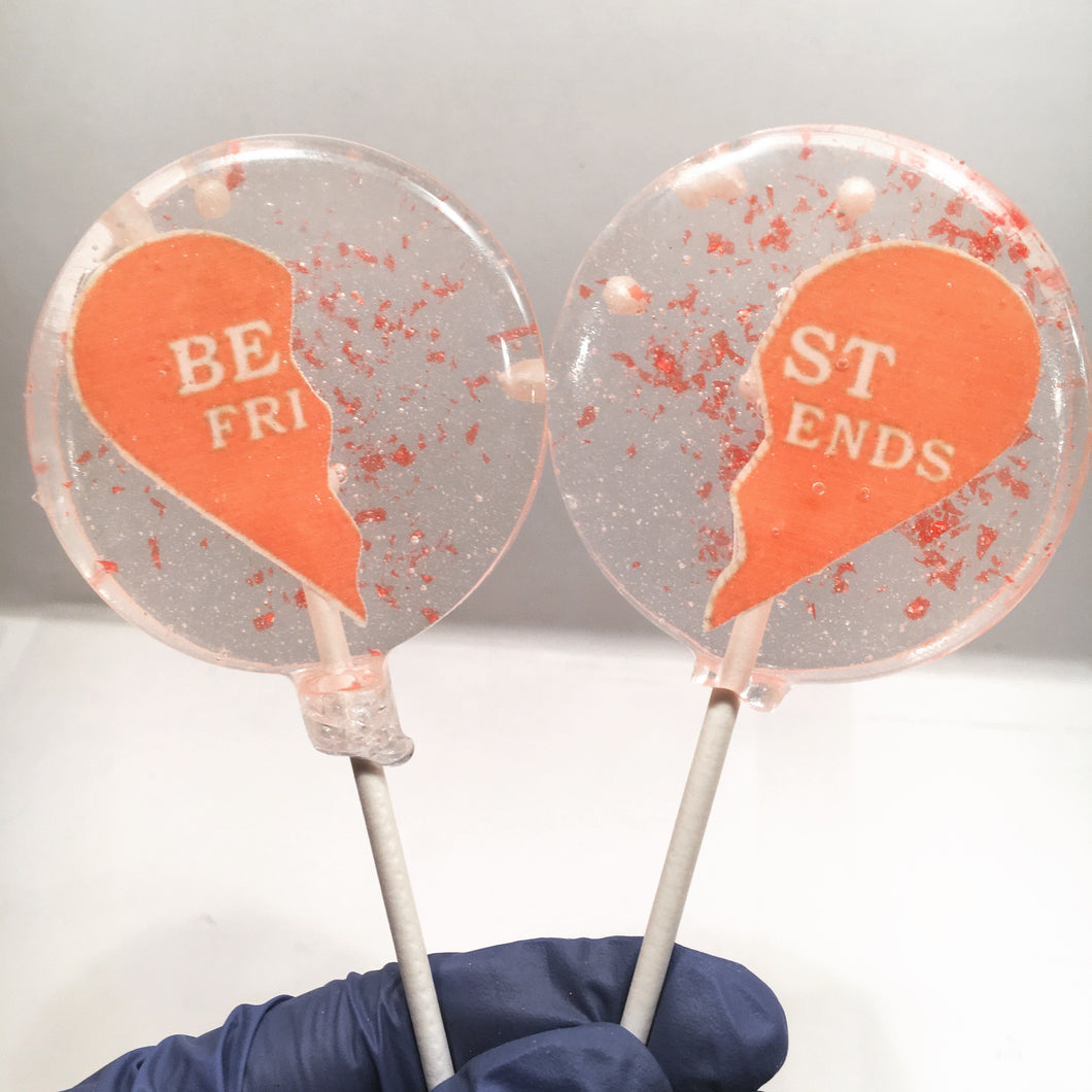 Best Friend Forever (BFF's) Lollipops
