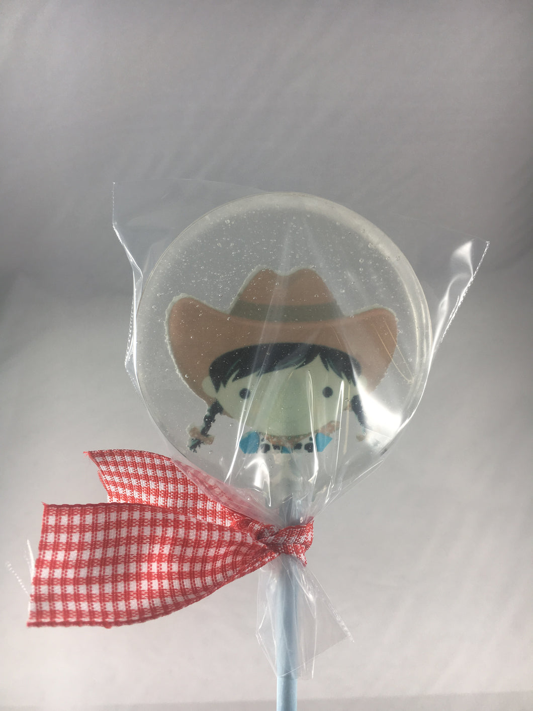6 Cowgirl Lollipops